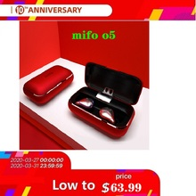 Mifo O5 TWS HIFI Wireless Bluetooth Earphones блютуз проводные  Earbuds Stereo Noise Cancellation беспроводные наушники цена 2017