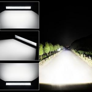 Image 4 - Aeobey Slim LED Light Bar 22inch 120w Work Light for SUV 4x4 Offroad 12V 24V Led Work Light Trucks SUV Accessories Fog Lamp