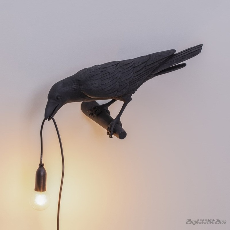 Bird Lamp LED Nordic Wall Lamps for Home Living Room Bedroom Aisle Restaurant Designer Home Decor Bird Light Wall Light Fixtures|LED Indoor Wall Lamps| |  - title=