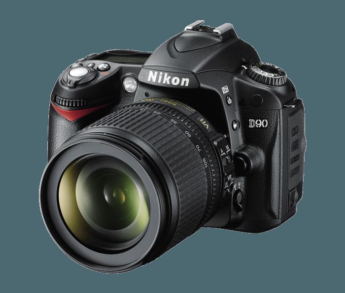 Utilizzato, nikon D90 12.3MP In Formato DX Fotocamera CMOS Digital SLR con 18-105mm f/3.5-5.6 G ED AF-S VR DX Nikkor...