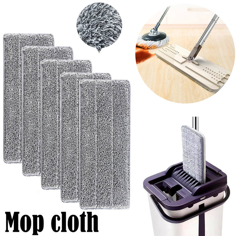 Home Cleaning Tool Mop Cloth Practical Replacement Microfiber Washable Spray Mop Dust Mop Household Mop Head Cleaning Pad 611j10