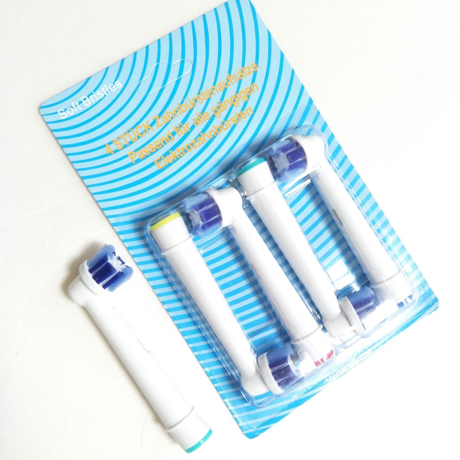 Oral B sonic электрическая зубная щетка PRO4000 3D уход за зубами ультра звуковая электрическая зубная щетка перезаряжаемая 2 сменные насадки - 2