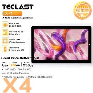 Teclast X4 Tablet Laptops 2in1
