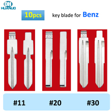 Sale ! 10pcs, #11 #20 #30 HU64 HU39 For Benz W140 S320 ML320  ML55 AMG ML430 C230 Flip KD Car Key Blade