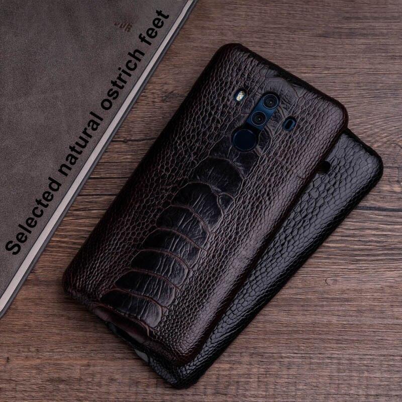 Funda de teléfono de piel de avestruz para Huawei Mate 20 10 9 Pro P10 P20 Lite borde suave de TPU funda para Honor 8X Max 9 10 Nova 3 3i Capa - 3