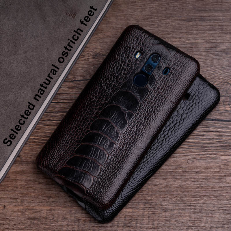 Ostrich Skin Phone Case For Huawei Mate 20 10 9 Pro P10 P20 Lite Soft TPU Edge Cover For Honor 8X Max 9 10 Nova 3 3i Capa - 3