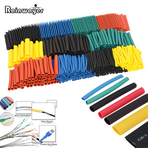 Polyolefin Shrinking Assorted Heat Shrink Tube Wire Cable Insulated Sleeving Tubing Set 164pcs/328pcs/530pcs/set