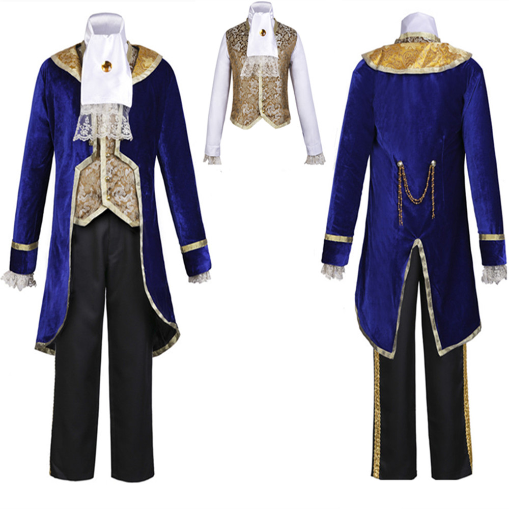 Anime Beauty and the Beast Costumes beast Boy Kids Adult men uniform Cosplay High quality Halloween adult child cosplay Costumes