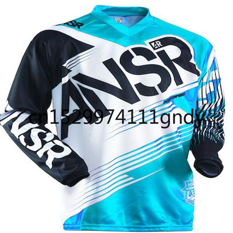 2020 New AR Motorcycle Long Sleeve Racing Shirt Off Road ATV Racing T-Shirt Moto Jersey DH MX ATV Motocross Jerseys