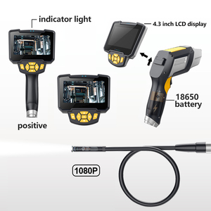 Image 4 - Antscope Industrial Endoscope 1080P HD Inspection Camera for Auto Repair Tools Snake Hard Handheld 4.3 inch LCD Wifi Borescope
