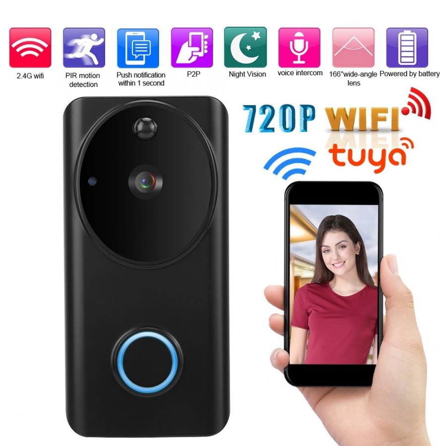 Intelligent HD Wireless WIFI Video Intercom Door Phone Doorbell Motion 32GB P2P