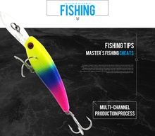 Thritop New Type Minnow 7G 90MM 5 Different Color High Quality TP098 Professional Fishing Lure Hard Bait Tackles