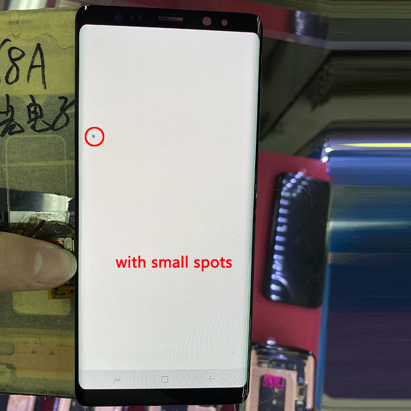SUPER AMOLED N950F LCD For Samsung Note 8 LCD Display Touch Screen Digitizer Assembly For Note 8 SM-N950 Display
