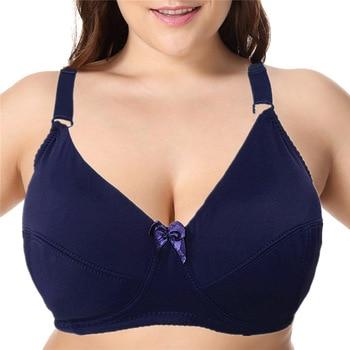 Beauwear Plus Size 36-52 Big Cup DD DDD E F Cup Unlined Bra Women Basic Underwear Full Coverage Underwire Supportive Bh