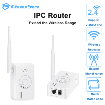 WiFi Range Extender Enhanced WiFi Booster IPC Router Signal Repeater For Wireless Camera System 2.4G Wifi Amplifier IP Camera