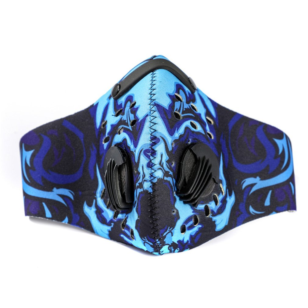 Sports Outdoor Mountain Bike Riding Masks Activated Carbon Face Masks Anti-Smog Mask Warm And Dustproof Mask