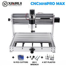 Cnc 3018pro Max Grbl Controle 200W 3 Axis Pcb Freesmachine, Diy Hout Router Ondersteuning Laser Graveren