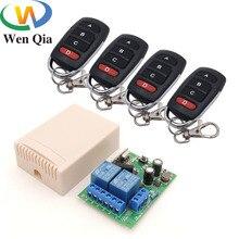 433MHz télécommande universelle sans fil ca 220V 10A 2CH rf relais récepteur et émetteur pour lumière à distance/ampoule/commutateur de moteur