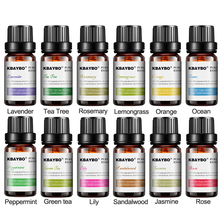 Water-soluble Oil Essential Oils for Aromatherapy Lavender Oil Humidifier Oil with 12 Kinds of Fragrance rose green tea ocean essential oils for aroma diffuser water soluble oil for aromatherapy air humidifier oil fragrance jasmine