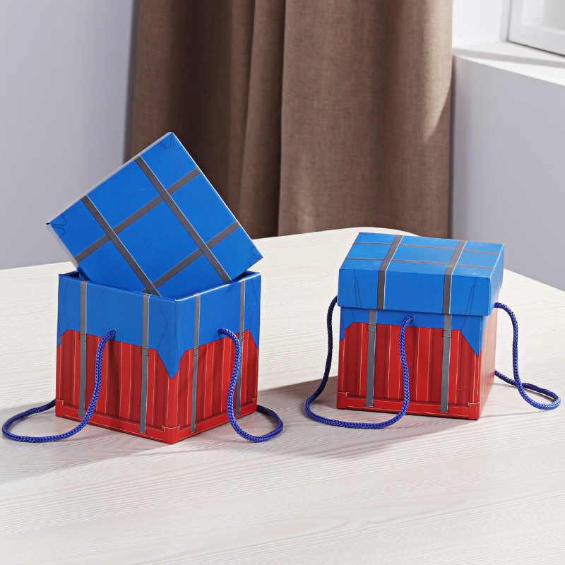 1 قطعة الفائز الفائز الدجاج عشاء عيد الميلاد عشية هدية صندوق عبوة تعبئة حلوى الزفاف التفاح صندوق فواكه مهرجان حفلة لوازم