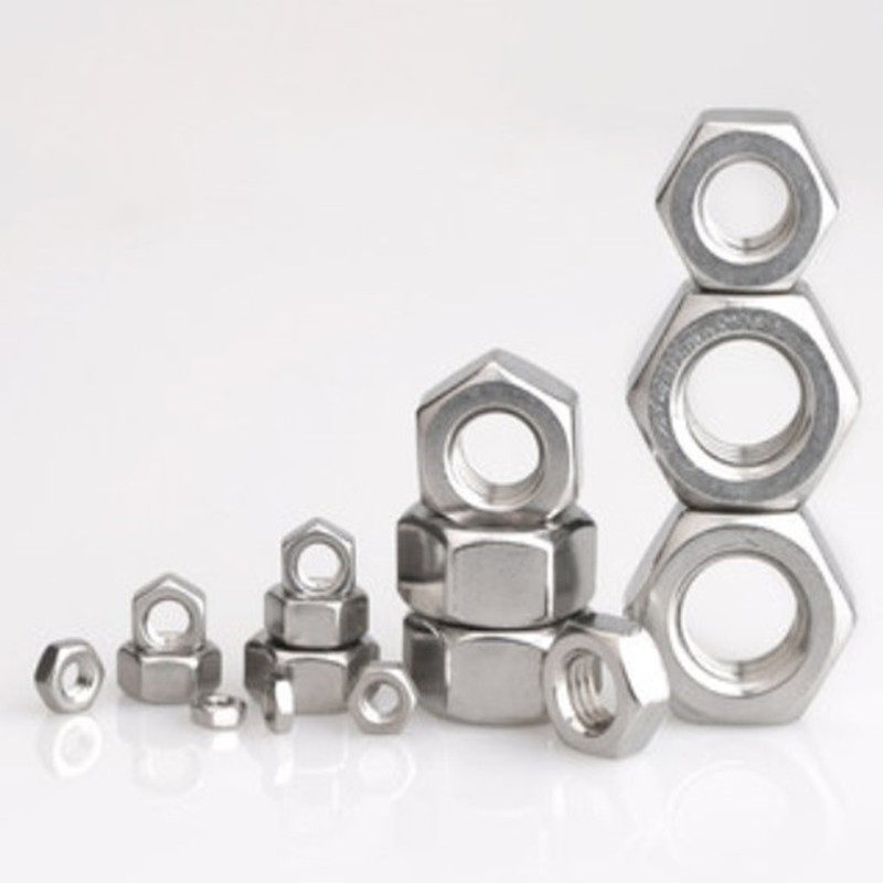 Black Hexagon Steel Ordinary Nuts for M1.4 M1.6 M2 M2.5 M3 M4 M5 M6 M8 M10 M12 M14 M16 M20 M24 M24 Bolts Size : 1pc M22