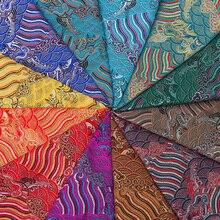 Brocade satin fabrics fabric for sewing DIY fabric imitation silk fabric for cloth