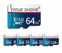 Alta velocidade class10 cartão de memória micro sd 128gb gb gb cartao de memoria 16 32 64 gb 8gb 32 4 gb cartão micro sd GB mini cartões TF como o presente