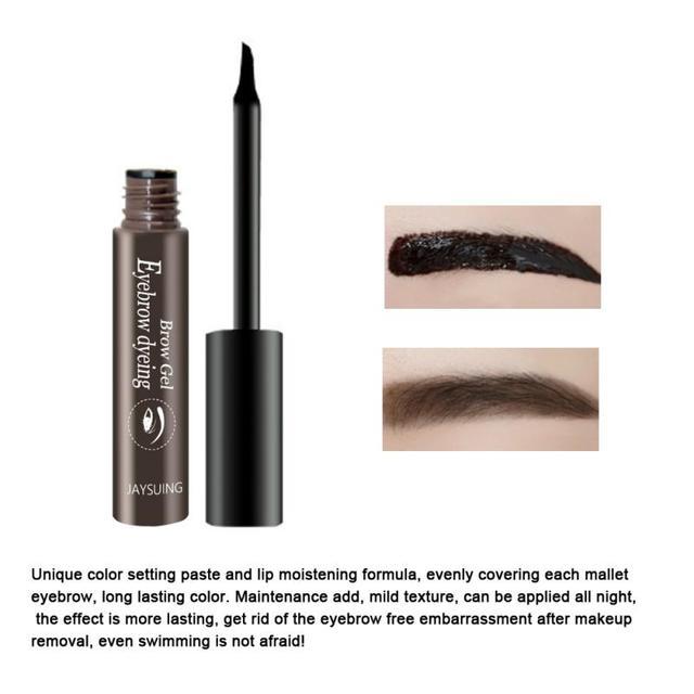 Waterproof Makeup Eye Brow Gel Coffee Black Brown Color Eyebrows Gel Paint Eyebrow Tint Mascara Kit Eye Brow Makeup Tools TSLM1