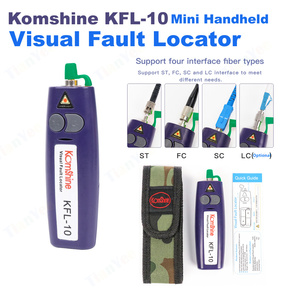 Image 1 - Komshine KFL 10 Mini Handheld Visual Fault Locator VFL Optical Fiber Cable Tester Fiber Optic Fiber Break Checker