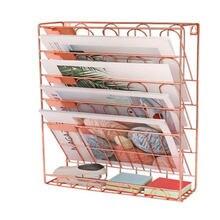 Пятиэтажная Вертикальная Металлическая железная стойка для хранения
