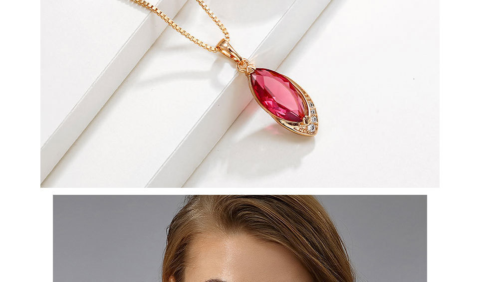 H8c60fb7c05924b668f6676a336475de9I Exquisite Ruby Necklaces With Pendant for Women