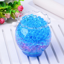 500pcs/5bag ful Pearl Gel Ball Polymer Hydrogel Crystal Mud Soil Water Beads Grow Magic Jelly Wedding Home Party soil