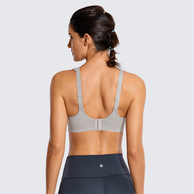 High Impact Full Coverage Bounce Control Underwire Sports Bra