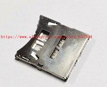 파나소닉 G7 G8 G80 G81 G85 G9 GH5 GH5S 카메라 유닛 수리 부품 용 새 SD 메모리 카드 슬롯 어셈블리