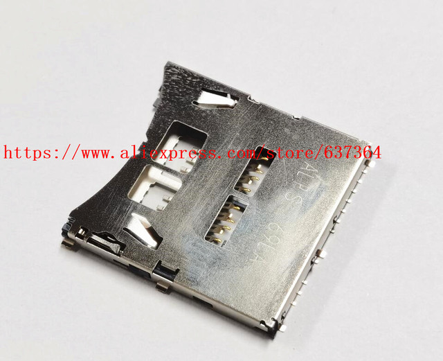 NEW SD Memory Card Slot Assembly For Panasonic G7 G8 G80 G81 G85 G9 GH5 GH5S Camera Unit Repair Part
