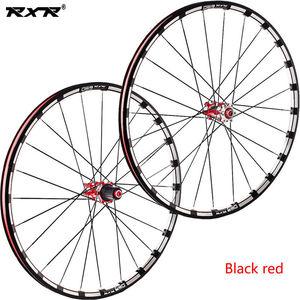 "Image 5 - RXR Carbon Hub MTB Wheelset 26/27.5/29"" Mountain Bike Disc Brake 5 Bearings Bicycle Wheel Sets 7 11Speed Thru Axle/QR MTB Wheels"