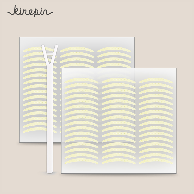 KINEPIN 2112&3168Pcs Eyelid Tape Sticker Eyelash Tape Invisible Eyelid Paste Transparent Self-adhesive Double Eye Makeup Sticker