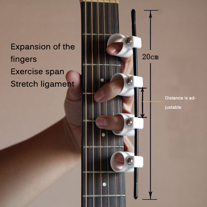 Finger Expansion Sleeve Finger Force Ukulele Piano Span Practice Electric Acoustic Guitar Finger Muscle Exercise Equipment