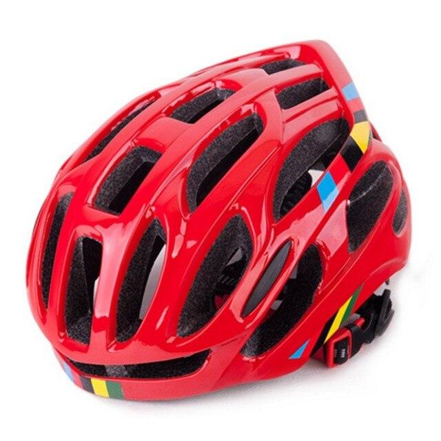 Ventilação suave Homens Mulheres Capacete Da Bicicleta Capacetes de Bicicleta Respirável Back Light Integralmente-moldado Capacetes de Ciclismo de Estrada de Montanha MTB 6