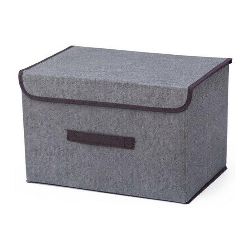 New Fashion Large Foldable Fabric Storage Box Drawer Toys/Books/Clothes Shelving Organizer