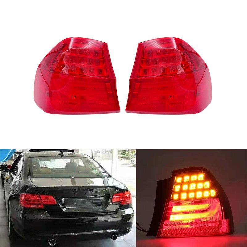JIUWAN 2 Pcs/1 Pcs Tail Light for BMW 3 SERIES E90 2008 2009 2010 2011 Rear Lamp LED Left / Right Side Car Assembly