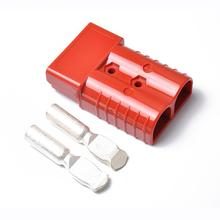 8 * 5.4 * 2.5cm 175A 600V Forklift Connector Adapter Plug With 2 Ports Battery Power Plug Automotive Electronic Parts