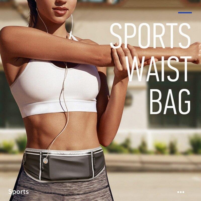 High Quality Ultra-thin Marathon Chest Bag Waterproof Mobile Phone Running Bag Running Supplies