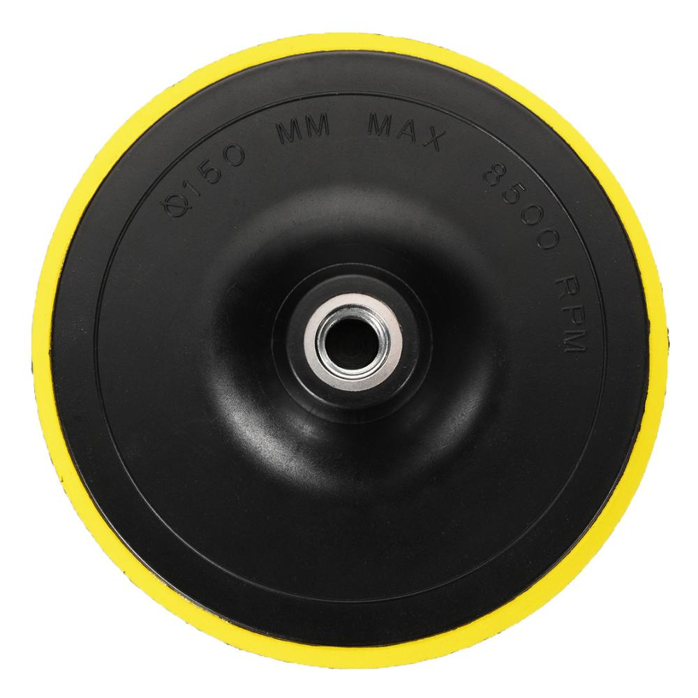 1pc M14 Backing Pad Car Polisher Bonnet Dia.75,100,125,150mm Angle Grinder Wheel Sander Paper Disc Auto Polishing Machine Tool