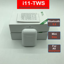 i11 i7s Tws Wireless Mini Bluetooth Earbuds Headsets Earphone Earbuds Not i9s i10 for Apple Andorid iPhone Headphones(China)