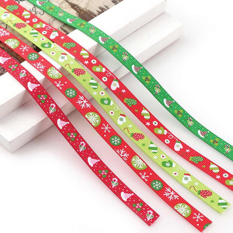 5 metri di Nastro Del Grosgrain di Natale Buon Natale Nastro Hairbows FAI DA TE Accessori Materiali di Decorazione di Festival Del Partito Regalo Cornici e articoli da esposizione