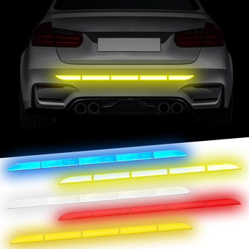 Car Sticker For BMW E46 E39 E90 X3 X5 X6 X1 X2 X4 X6M Accessories Reflective Tape Stickers Exterior Warning Strip Reflect Tape image