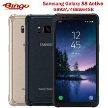 Разблокированный телефон Samsung Galaxy S8 Active G892A, телефон с экраном 835 дюйма, Восьмиядерный процессор Snapdragon 5,8, камера 12 МП, 4 Гб и 64 ГБ, Поддержка NFC, ...