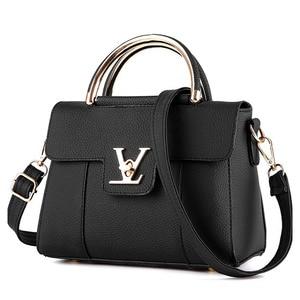 Image 3 - Women Handbags PU Leather Shoulder Messenger Bags lady Hand Bags High Quality Fashion Female Bag Crossbody Bags for Women 2020