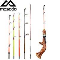 Mosodo, Мини Удочка для подледной рыбалки, ультра-светильник, ABS полюс, плоский круглый наконечник, для зимней рыбалки, 25 см, 30 см, 35 см, 50 см, 55 см, ...